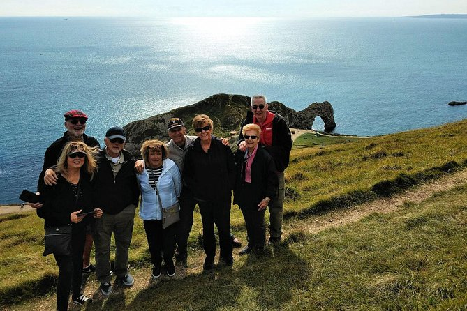 Join us and visit 10+ sights on the magnificent Jurassic Coast! From Old Harry Rocks (Durlston Park) to West Bay including the famous town where Broadchurch was filmed! Sights include Durlston Park, Corfe Castle, Durdle Door, Lulworth Cove, Lulworth Castle, Weymouth, Portland, Abbotsbury, St Catherine Hill, West Bay and Broadchurch. By travelling in small groups, we provide a personal and authentic tour experience, taking you to places that people don't normally see and where many tours can't venture. We guarantee you will see more sights on the Jurassic Coast with us than any other tour company. Join us on this mammoth breathtaking Jurassic tour!