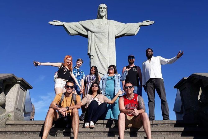 Join us, in a small group tour, for a day full of fun, visiting the most well-known landmarks in the city, and culture, visiting downtown Rio and it's fascinating buildings. <br><br>Following early morning pickup at your Rio de Janeiro accommodation, board an air-conditioned minivan and head straight to the Statue of Christ the Redeemer. Travel through Tijuca National Park, and spend ample time admiring views beside one of the New7Wonders of the World.<br><br>Then, take a cable car to the summit of Sugarloaf Mountain for more spectacular vistas of Rio. Following a break for lunch at a restaurant in Ipanema, continue to Maracanã Stadium and the Sambadrome to admire the exterior of each.<br><br>Tick off the Lapa Neighborhood, the Selarón Staircase (Escadaria Selarón), and Rio de Janeiro Cathedral on a panoramic tour, and see the extravagant interior of São Bento Monastery on a guided tour.<br><br>Plus, take in the beaches of Flamengo and Botafogo before your tour concludes at the Cruise Terminal drop-off.