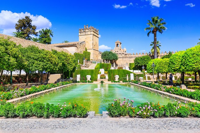 Visit Alcazar of Cordoba with an official guide and get amazing views from the impressive watchtowers.<br><br>Admire the rich ornamentations of the former royal palace of the Catholic kings of Spain on a tour of the Alcazar of Cordoba with an official guide. Enter through the main entrance gate and immerse yourself in the wonderful architecture of the palace, located on the site of a fortress built by the Visigoths and later occupied by the Caliphate of Cordoba.<br><br>Learn more about historical events that shaped its importance to the city, including the meeting between Isabella I of Castile and Ferdinand II of Aragon and the explorer Christopher Columbus before he set sail for America.<br><br>Stroll through rooms with remarkable features, such as the mosaics of the Salon de los Mosaicos. Admire the crenellated towers and the Moorish motifs of the baths of the Patio Morisco. Then, climb the watchtowers for panoramic views of the gardens.