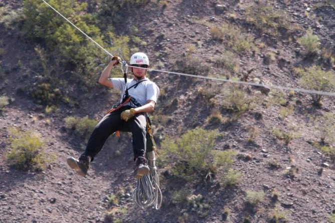 Zipline Adventure from Mendoza in Potrerillos Valley, Mendoza, ARGENTINA