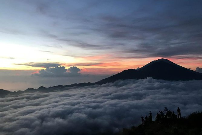 Explore Batur volcano trekking tour to experience the beauty of sunrise at mount Batur. enjoy the light breakfast with the bread and egg that cooked by the natural volcano steam. private transportation and local guide are included to give you the best experience.