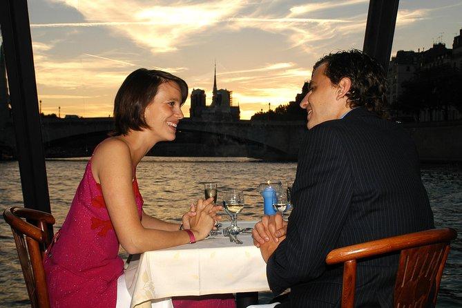3-Course Seine Dinner Cruise at The Marina de Paris, Paris, FRANCE
