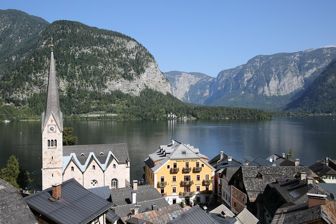 Explore Hallstatt in the alpine region of Salzkammergut on a half-day tour by coach, departing from Salzburg. The 5.5-hour tour visits the historical village of Hallstatt for serene lakeside walks, views from a 7,000-year-old salt mine and a visit to Muhlbach Waterfall. Learn about the region's historical details from a guide as you saunter through the picturesque village, and pass by Gosau Lake to soak up its tranquility and views of the Dachstein Mountains.