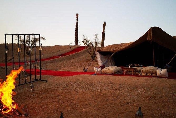 Magical private dinner in Marrakech desert, Marrakech, cidade de Marrocos, MARROCOS