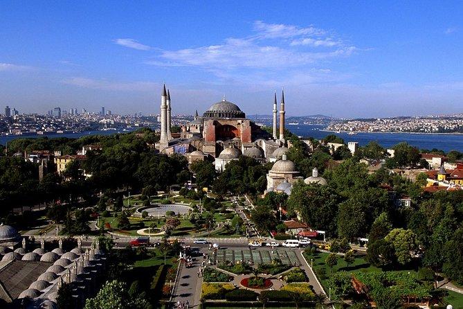 Excursão a pé para grupos pequenos em Istambul: museu Santa Sofia e Mesquita Azul, Istambul, TURQUIA