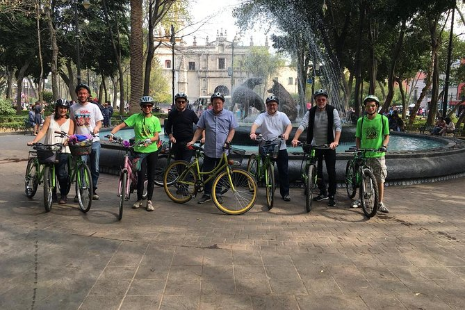 Mexico City Bike Tour: Coyoacan and Frida Kahlo Museum VIP ENTRANCE, Ciudad de Mexico, MÉXICO