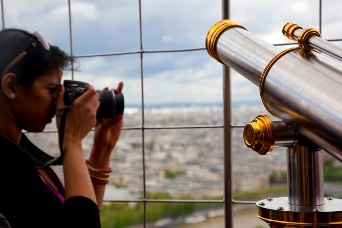 Eiffel Tower Second Floor Guided Tour by Elevator, Paris, FRANCE