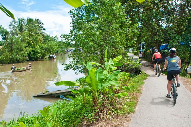 Small Floating Market & Mekong Delta Tour with Kayak, Boat, Bike, Cooking Class, Ho Chi Minh, VIETNAME