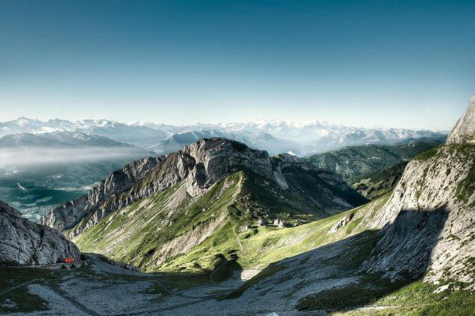 Excursión de un día al Monte Pilatus en verano desde Zúrich, Zurich, SUIZA
