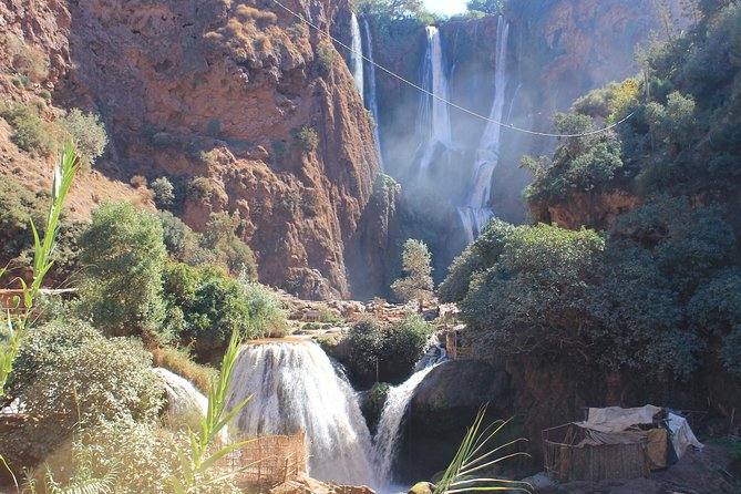This day trip will give you the opportunity to soak the beauty of the nature in Ouzoud Waterfalls,take an adventurous hike through Olive groves to the source of the waterfall, Take a swim and cool off at the base of the waterfalls.