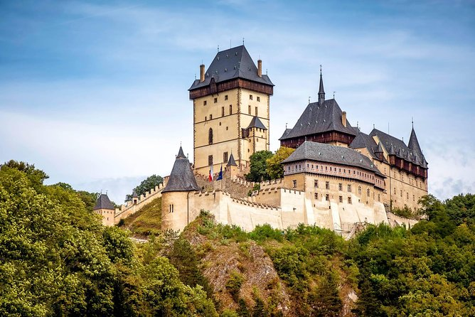 Visit UNESCO listed Regensburg, Pilsen beer town & Karlstejn castle on your transfer from Munich to Prague. <br><br>Join our entertaining and easy-going road trip from Munich to Prague. Travel through the picturesque Old Town of Regensburg, visit the most famous castle in the Czech Republic – the Karlstejn Castle, and taste the original Pilsner beer in Pilsen. We'll help you discover the two countries and take you to places you'd never make it to in just one day.<br><br>Our knowledgeable local tour leaders take a small group, maximum of 8 people, for a fun-filled 10-hour road trip from Munich to Prague. You will learn about the history, culture, and most importantly the people of both the Czech Republic and Germany.