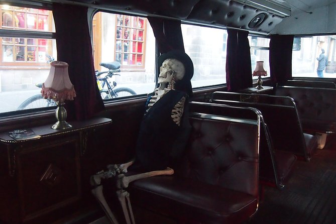 Discover York's sinister side on this 1-hour ghost bus tour, led by a hellishly hilarious guide. Visit some of city's spookiest sights and learn about the restless spirits whose sightings have earned York the accolade of the most haunted city in the world. From your blood red seat aboard a Routemaster — a classic double-decker bus — pass by top historical attractions such as York Minster, Clifford's Tower and the grave of the notorious highwayman Dick Turpin, hopping off occasionally to get acquainted with the sites of ghostly apparitions.