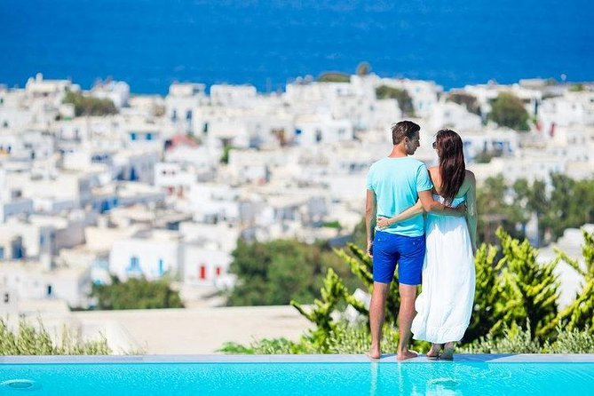 Discover Mykonos Island and Town - Family Swimming, Miconos, GRECIA