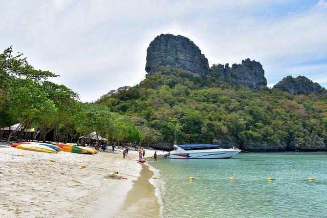Excursión en lancha motora desde Koh Samui con buceo de superficie y kayak por el parque marino de Ang Thong, Koh Samui, TAILANDIA