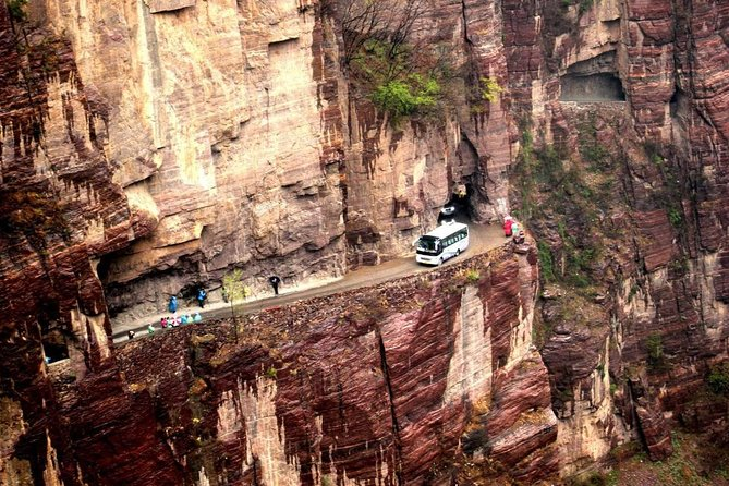 If you are in Zhengzhou, take this one day private tour to Guoliangcun village, you will be impressed by its rugged terrain, beautiful scenery, fantastic waterscape, and the amazing tunnel. Guo Liang Cun Villagewas honored as the Pearl inlaid inTaihang Mountains. This private day tour includes tasty local lunch, entrance fee, an English-speaking guide and transport by private vehicle.