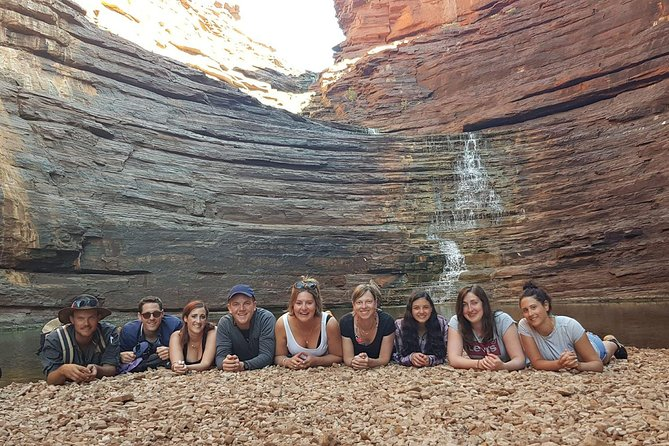 Our tours are for the Adventure seeking travelers, we are West Adventure Tours, not West comfortable, predictable luxury tours. You can expect wild camping in swags under the stars with no bathroom facilities most nights, however we do carry a portable toilet. We believe this does give you the experience of a lifetime in the Australian wilderness. As much as possible, we do camp in private locations for just our passengers to enjoy sitting around the campfire at the end of each night getting to know each other with nobody else around.<br>