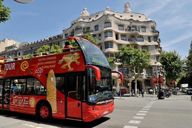 Visit Barcelona at your own pace aboard one of our double-decker red buses. Hop-on and hop-off as many times as you wish through the day with a single ticket. Switch routes and discover Barcelona with an audio guide system. Now available in 15 different languages!.