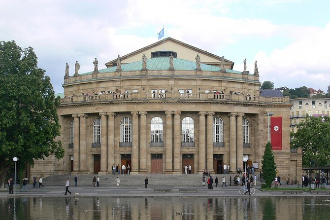 Stuttgart City walk, Stuttgart, GERMANY