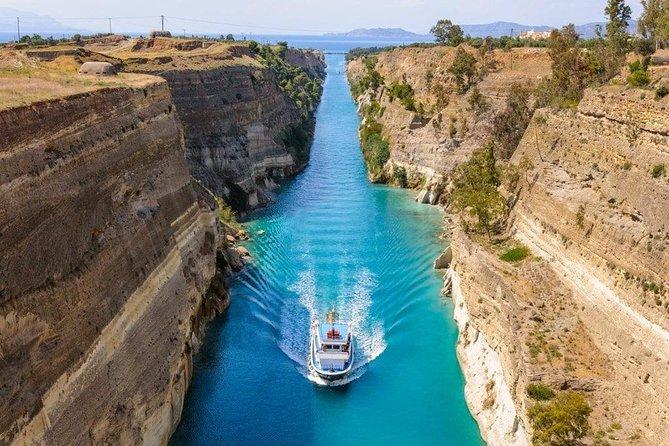 Corinth Canal, Ancient Corinth, Mycenae, Nafplio & Epidaurus Private Sightseeing, Corinto, GRECIA