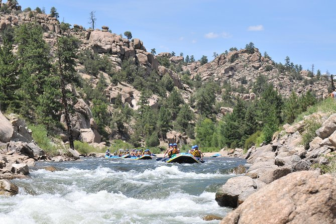 Browns Canyon Intermediate Rafting Trip Half Day, Buena Vista, CO, ESTADOS UNIDOS