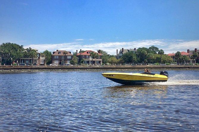 Charleston Harbor Speed Boat Adventure Tour, Charleston, SC, ESTADOS UNIDOS