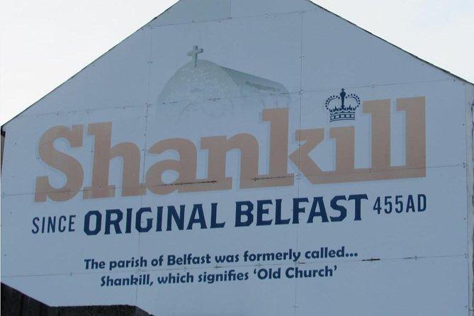 Recorrido en taxi por los murales de Belfast, Belfast, IRLANDA