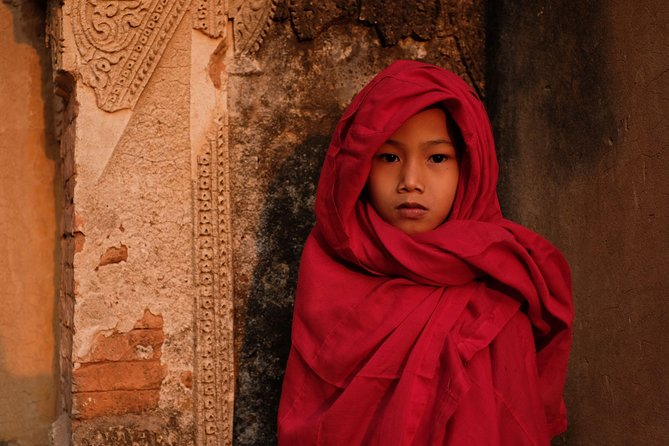Uncover the little-known secrets of Bagan on this private guided tour. You'll begin by watching the sunrise over the ancient monuments of Old Bagan, away from the buses and crowds. Learn traditional crafting from local artisans on a village walking tour in the morning, and visit an amazing secluded monastery on the Irrawaddy riverside in the afternoon. You'll visit temples and villages off the tourist track and discover authentic Bagan through its people. Enjoy sunset from hidden temple, along the riverside, or with locals in a rural village rarely seen by outsiders.