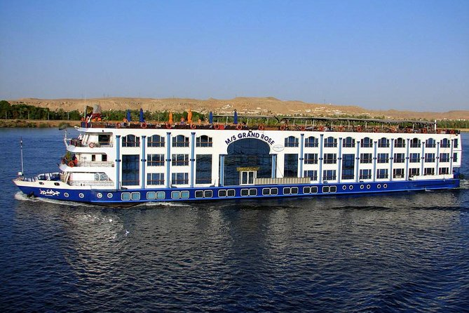Imagine yourself relaxing on the deck of a 5 star Nile Cruise ship sailing down the Nile, watching the beautiful Nile Valley scenery and the real Egyptian life. Explore the highlights of the sightseeing in Luxor and Aswan, two stops in the way to visit the pharaonic sites of interest such as; Kom Ombo and Edfu temples. Have fun and enjoy plenty of night entertainments of the belly dancing show, galabiya party, Nubian show or disco and more in 4 days/3 nights Nile Cruise every Sunday, Monday, Wednesday or Friday from Aswan to Luxor. Full board, check in with lunch, check out with breakfast. <br>Note: the tour ends the last day in Luxor around 3:00 to 4:00 PM