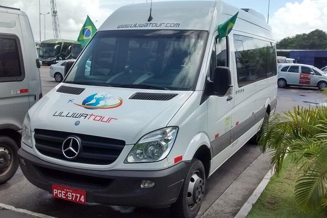Finish your trip the way you deserve it and book this transfer from your hotel in Porto de Galinhas, Muro Alto or Serrambi the easy way! <br><br> Enjoy this transfers from your hotel in Porto de Galinhas, Muro Alto or Serrambi to the International Airport of Recife by a double air-conditioned vehicle which has tv, dvd, wifi. <br><br> This service will offer you safety, punctuality and comfort. You should enjoy your vacation so get off to a great start with us.