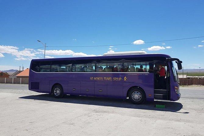 Tour Bus Service, Ulan Bator, MONGOLIA