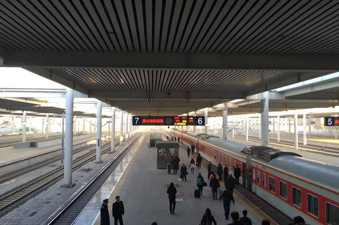 MÁS FOTOS, Private Arrival Transfer from Tianjin Railway Station to City Hotels