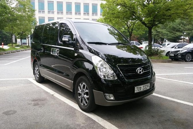 The service includes a newly vehicle, an English-speaking driver and allexpenses. It's a hassle free service to get to any place in Seoul from the ICN airport or from the ICN airport to Seoul.this is a private service so you can have a vehicle all to yourself. This transfer service operates 24 hours a day and 7 days a week.