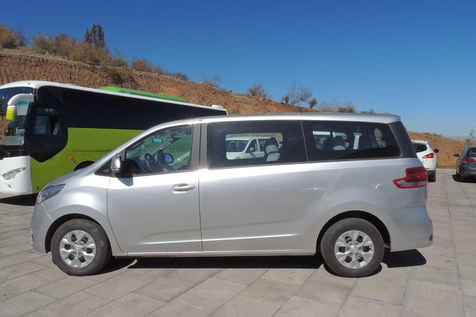 You can pre-book this private transfer from San Antonio Port to your hotel or hotel to International airport of Santiago for a safe and smart travel. This is a very good option to connect your cruise travel. Transfer services are available 24 hours a day, 7 days a week. This is a private transfer service in an authorized transport ministry tourism transportation.