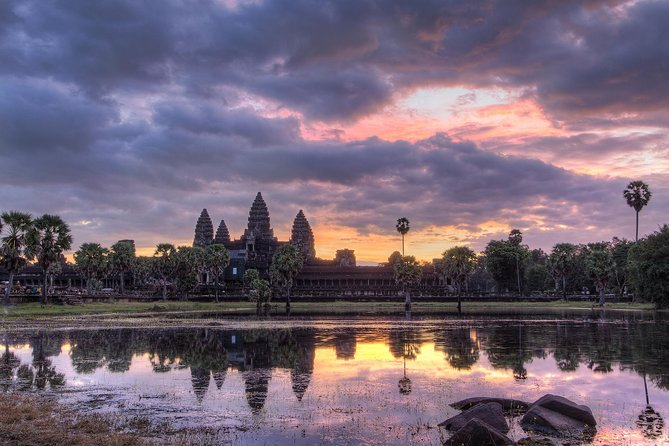 On first day, we will visit the world largest religious monument, Angkor Wat temple. After that, we will visit Ta Prohm or Tomb Raider temple. It is one with a lot of gigantic tree roots over the temple. <br><br>After Lunch, we will Visit Ta Nei temple before we head to the South Gate of Angkor Thom, one of the most photograph spot in Angkor Park. We'll continue to Bayon, a 216-smilling face temple that is in the center of Angkor Thom. We will visit some other famous temples in Angkor Thom. We'll stop by to see Baphuon, the Terrace of Elephants and the Leper King. Finally, we will go to Phnom Bakhen mountain and climb up to the top to see a gorgeous sunset.<br><br>On the second day, we will watch a beautiful sunrise at Angkor Wat temple and visit the Big Circuit such as Preah Khan - Sword temple, Neak Pean, Ta Som, East Mebon, and Pre Rup temple. <br><br>In the afternoon, we will visit Banteay Srei or called Ladies Temple, built of a rare pink sandstone. It is known as the jewelry of Angkor. <br>