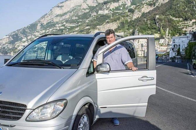Transfer from and to Naples (city, train station, airport) From Amalfi Coast, Amalfi, ITALIA
