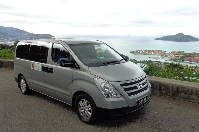 Pre-arrange your Private ARRIVAL Transfer from Seychelles International or Domestic Airport to your Hotel in advance for 1 to 6 passengers per vehicle including luggage. On arrival at Mahe Seychelles Airport you will be met and guided by our representative. Our driver will assist with loading your luggage onto the vehicle and will then drive you from Seychelles Airport to your Mahe hotel in our relaxed climate-controlled vehicle while you enjoy the views and landscape of Seychelles.<br><br>Luggage Allowance: 1 Suitcase and 1 Hand-Carry Bag per person.<br><br>                (Any extra luggage may be chargeable and must be mentioned in booking).