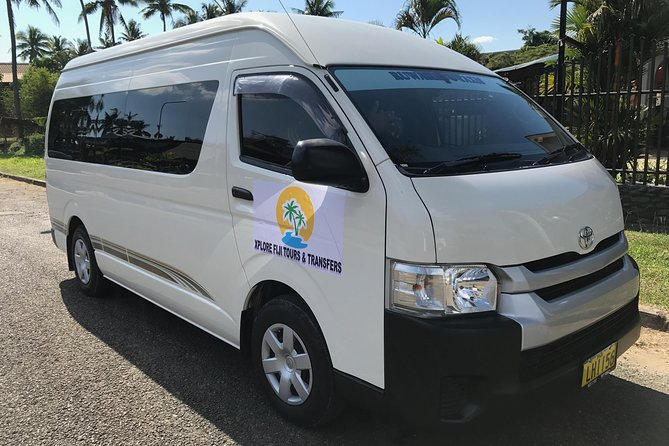 Always better to book your transfer in advance to avoid stress.Private transfer from (NAN)Nadi international Airport to your hotel.Your driver will meet and greet you in arrival with your name sign.Helps with luggage and directs you to your vehicle.You can always ask the driver to stop at  the  supermarkets to get bottled water and beers and enjoy your transfer to the hotel.