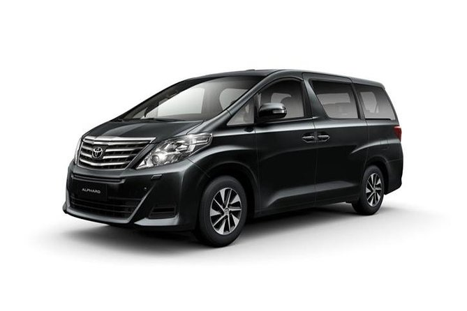 Private chartered taxione-way trip between New Chitose Airport andSapporo.<br><br>Remaining fees to be paid in cash directly to driver.<br> • ToyotaCrown (can accommodate up to3 adultsand 3 luggage) -10,890 JPY <br> • ToyotaAlphard (can accommodate up to5 adultsand3 luggage or 4 adults and 4 luggage) - 13,890 JPY <br> • Toyota Hiace(can accommodate up to9 adultsand 9 luggage) - 20,500 JPY
