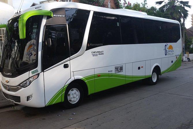 Air Conditioning Bus transfer, Cartagena de Indias, COLOMBIA