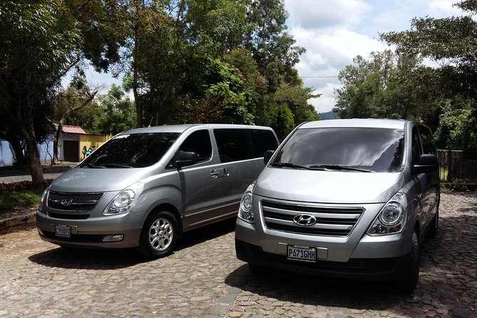 Guatemala city's airport and Antigua are connected by an excellent highway (30 Mls). The drive normally takes 1 hour but it will depend on traffic conditions. Be safe and comfortable by booking your private transportation to Antigua with us. All our units are sanitized prior every service, they are recent models, with A/C, reclinable seats, antibacterial sanitizer on board, passenger insurance, GPS monitored and our drivers are well trained, responsible and with a lot of experience to make your travel more pleasant.<br><br>