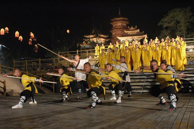 MÁS FOTOS, Private Tour to Zhongyue Temple, Shaolin Temple and Zen Music Ceremony from Zhengzhou