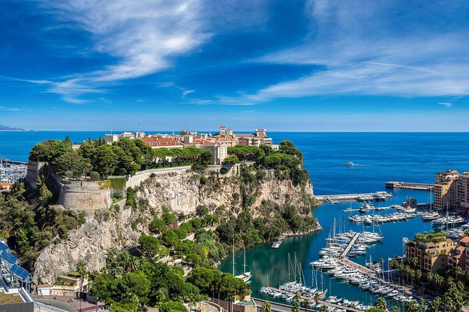 "Spend a day on the beautiful French Riviera with a small-group day trip from Nice to Eze and Monaco. Experience panoramic views from the cliff's roads leading from Nice to Monaco. You'll discover a charming hilltop village: Eze such as an eagle nest with a breathtaking view.<br>Then, you'll awake your senses through the guided tour of a perfumery, true essence of Provence.<br>Follow your trip toward the principality of Monaco : that will reveal you the charm of the old town, crowned by the Prince's Palace, the majestic cathedral that hosts Grace Kelly's grave as well as the outstanding oceanographic museum.<br>Continue toward the amazing lap of Formula 1 track will lift the veil on the high precision of the ""Grand Prix"" pilote's skills.<br>Then discover the legendary square of Monte-Carlo, amuse yourselves with luxurious shopping, strolling through fancy cars, mega-yachts and chic casinos or simply watch the city walk by from the renowed Café de Paris.<br>"