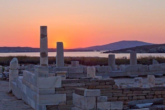 Excursão de meio dia em Delos, saindo de Mykonos, Miconos, Grécia