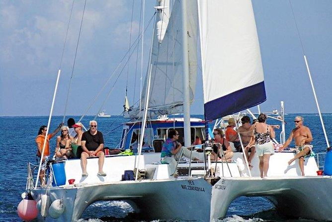 Excursión para navegar y hacer esnórquel en catamarán
