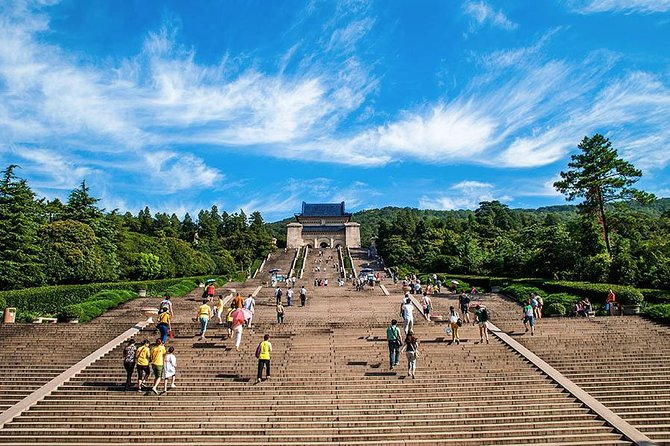 Take a visit the to the old capital city Nanjing with a full-day sightseeing tour with your personal local guide. Itinerary can be customized based on your interests. See famous spots, such as Chaotian Gong (Heaven Palace), Zhonghua Gate (ancient city wall), Confucius Temple, Sun Yat-Sen Mausoleum, Qinhuai River, Xuanwu Lake, Purple Mountain or other city attractions. Private transfer and lunch are also included, and your meeting point can be either from your Nanjing Hotel or Nanjing Railway Station.