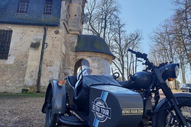 Half Day tour in Vintage Sidecar Motorcycle : Best Visit of Flower Coast (3h), El Havre, FRANCIA