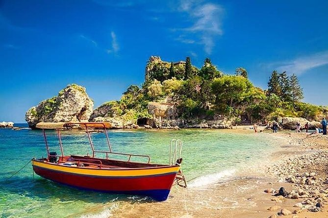 In Taormina, you will walk through the town enjoying the beauty of the historical center where are located the city's main attractions (Greek Theater, Cathedral, Belvedere Square, Duomo Square) and the beautiful beach of Isola Bella that made Taormina so famous around the world. We will take you also to the best panoramic points to enjoy the view and take memorable pictures. Afterwords, we will visit the characteristic medieval village of Castelmola with its Cathedral and the main square with its wonderful view on Mount Etna. An almost compulsory stop is Turrisi Coffee Shop, where it is possible to taste a special almond wine.