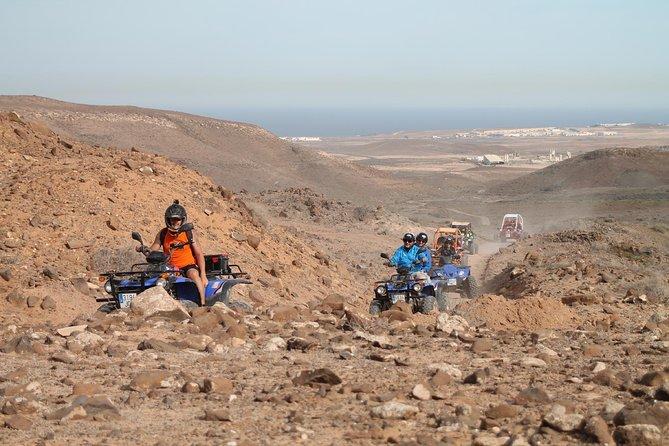 Quad Or Buggy Explorer In Caleta De Fuste, Fuerteventura, Spain