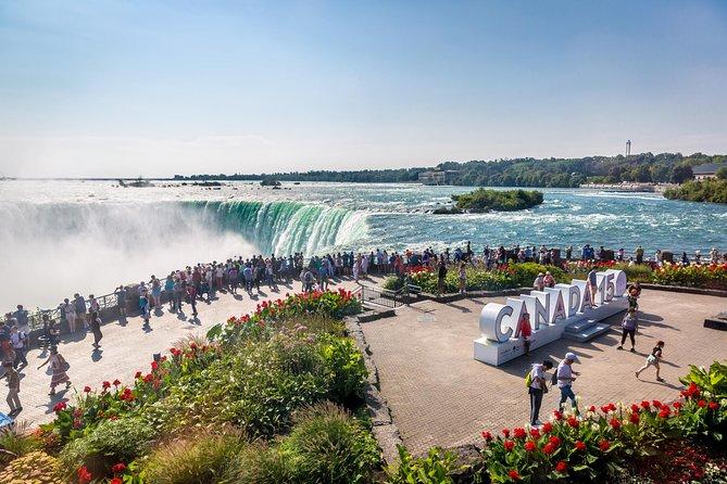 Toronto To Niagara Falls Tour w/ Free Wine Tasting in Niagara-on-the-Lake, Toronto, CANADA