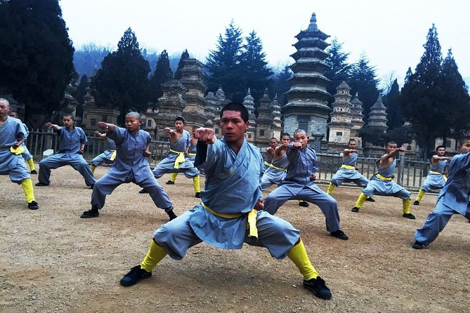 Shaolin Temple Overnight Stay Experience with Martial Art Practice and Activities from Luoyang, Luoyang, CHINA